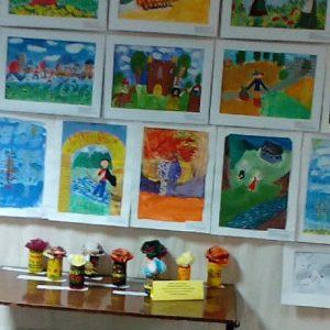 Выставка работ обучающихся педагога Хоревой Анжелики Александровны