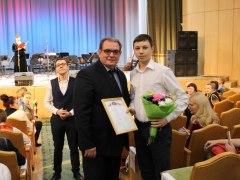 Шабрашин Михаил — лауреат премии главы г.о. Тольятти