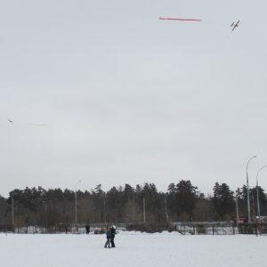 Соревнования по авиамодельному спорту