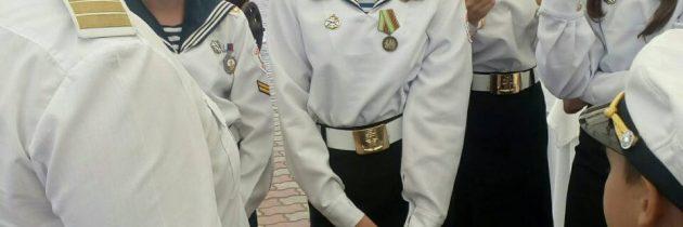 Мероприятия в честь дня Военно-морского флота