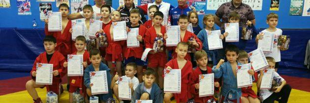 Первенство г.о. Тольятти по самбо на призы Деда Мороза