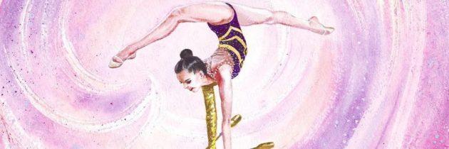 Занятие по художественная гимнастике