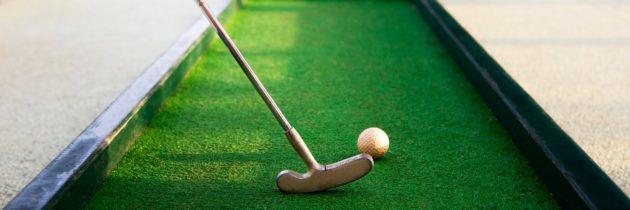 Гольф для всех «Как организовать состязания по мини-гольфу в домашних условиях»