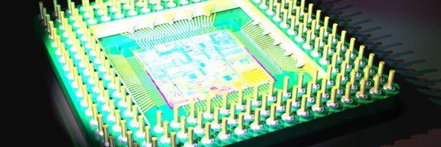 Электромодель с микропроцессором