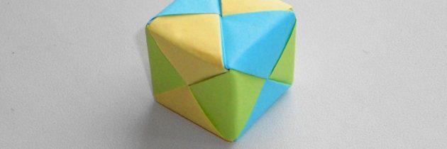 Мастер-класс «Кубик» (техника модульное оригами)