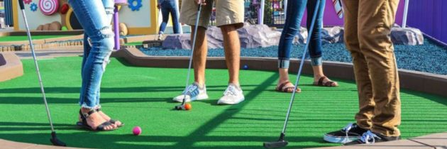 Гольф для всех. «Игры и соревнования по мини-гольфу дома»