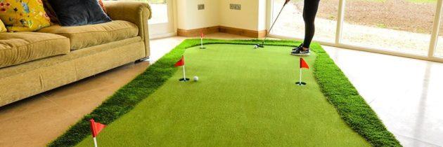 Гольф для всех «Как организовать занятия мини-гольфом дома»