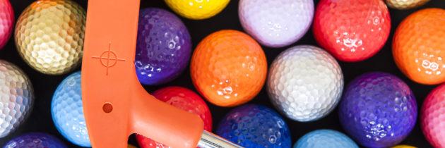 Разновидности мячей для мини-гольфа