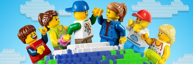 Лего-открытка «Праздничная»