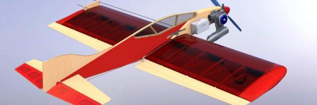 Сборка кордовой модели «Ветерок-2»