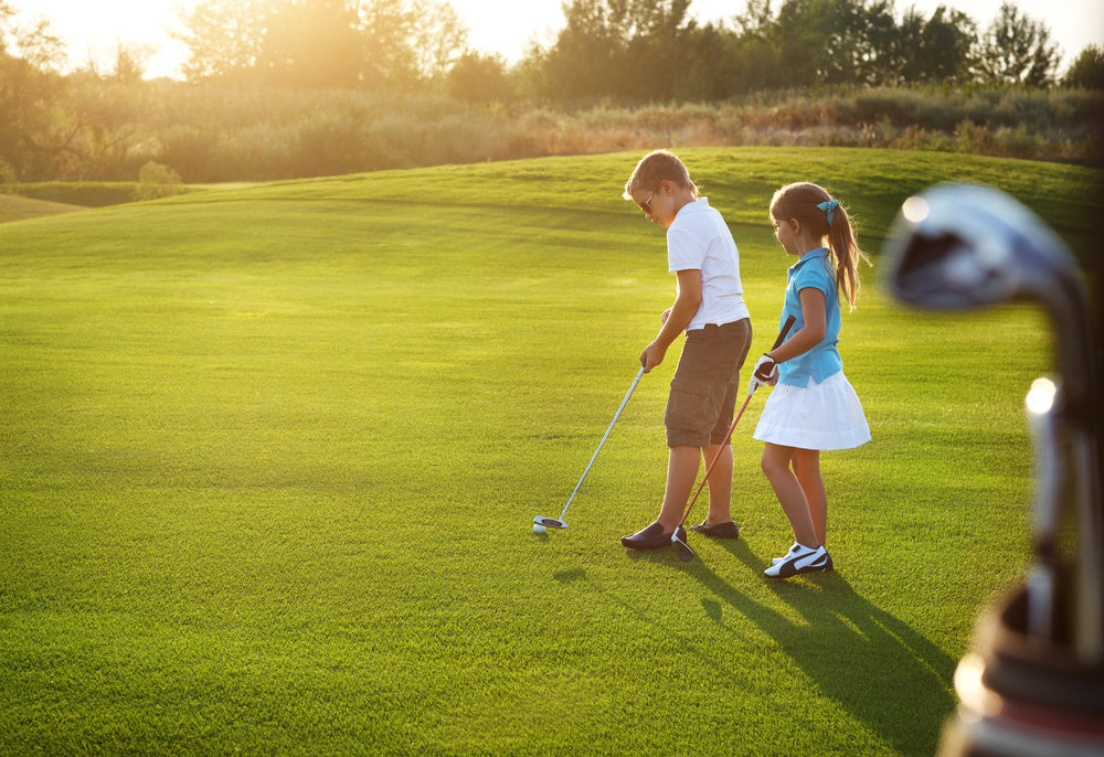 Картинки о игре в гольф
