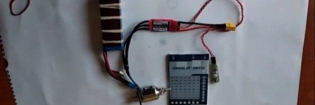 Электромодель с программируемым регулятором мощности