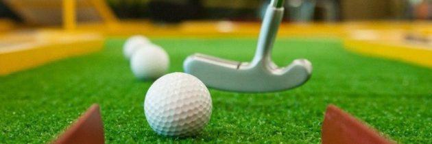Гольф для всех: «Мастер класс по мини-гольфу от мастера спорта»