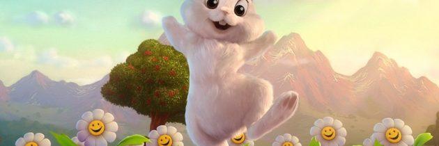 «Креативный заяц идет в гости с цветами» (часть 3)