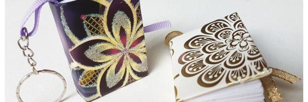 Творческая лаборатория «Краски лета»: Создание изделия «Брелок-блокнот»