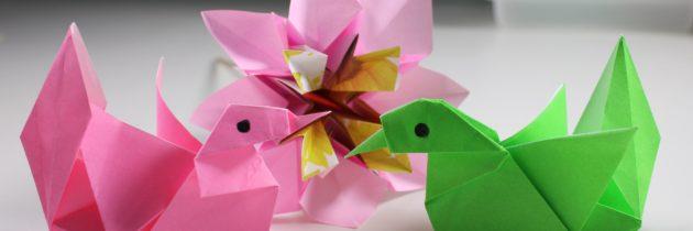 Путешествие в страну «Оригамия»: Занятие № 4