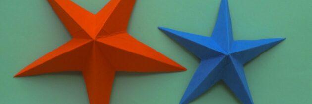 Мастер-класс в технике объемного моделирования «Звезда»