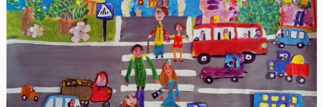 ⛔ Как научить ребенка правилам дорожного движения?