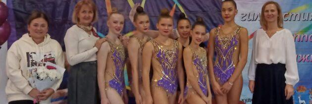 Открытое Первенство Самарской области по художественной гимнастике в групповых упражнениях