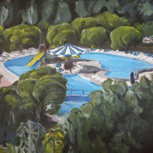 рисунок детского парка