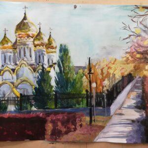 рисунок Спасо-Преображенского собора