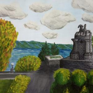 рисунок памятник Татищева