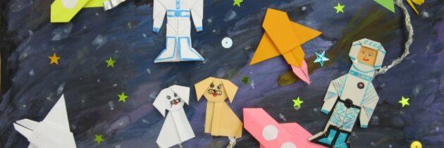 Виртуальная галерея детских рисунков «Человек и космос»