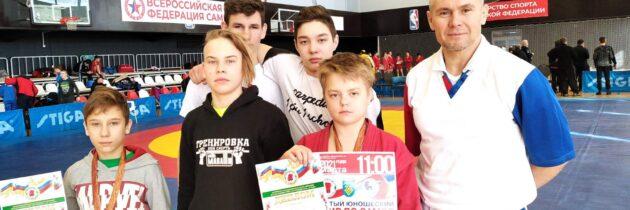 Открытый юношеский турнир г.о. Тольятти по борьбе САМБО среди юношей 2006-2007 г.р.