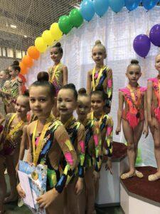 Фото Турнира по художественной гимнастике Веснушки