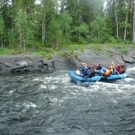 Сплав по реке Охта