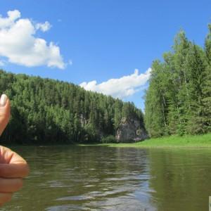 Сплав по реке Чусовая.