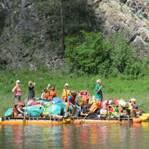 Сплав по реке Чусовая