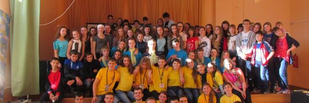 Отряд молодежных лидеров вернулся с очередных сборов!!!