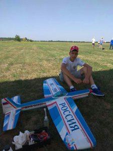 Фокин Ярослав Чемпионат Европы 2017 г. по авиамодельному спорту