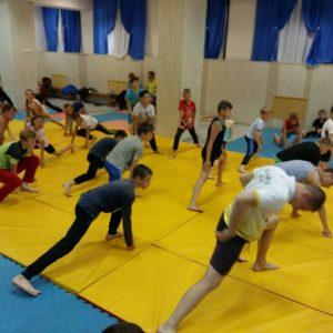тренировка спортсменов