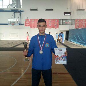 Серебряный призер соревнований