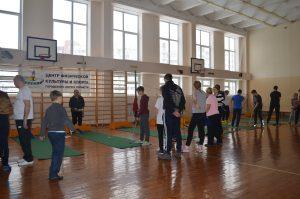 Муниципальный этап «Президентских состязаний» (мини-гольф)