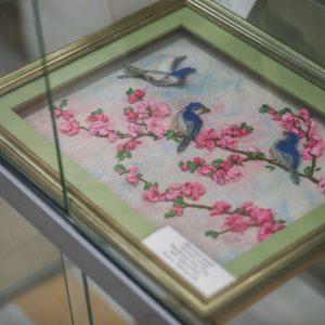 выставку – итог Всероссийского конкурса детского творчества «Гамаюн – Птица вещая»