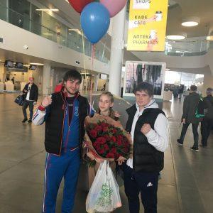 Анна Титаренко выиграла Кубок Президента по тхэквондо в Афинах